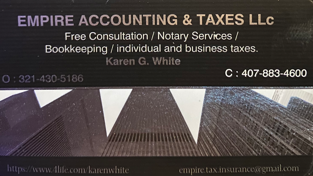 EMPIRE ACCOUNTING & TAX ,LLC - accounting    Photo 1 of 9   Address: 114 S Rose Ave, Kissimmee, FL 34741, USA   Phone: (407) 883-4600