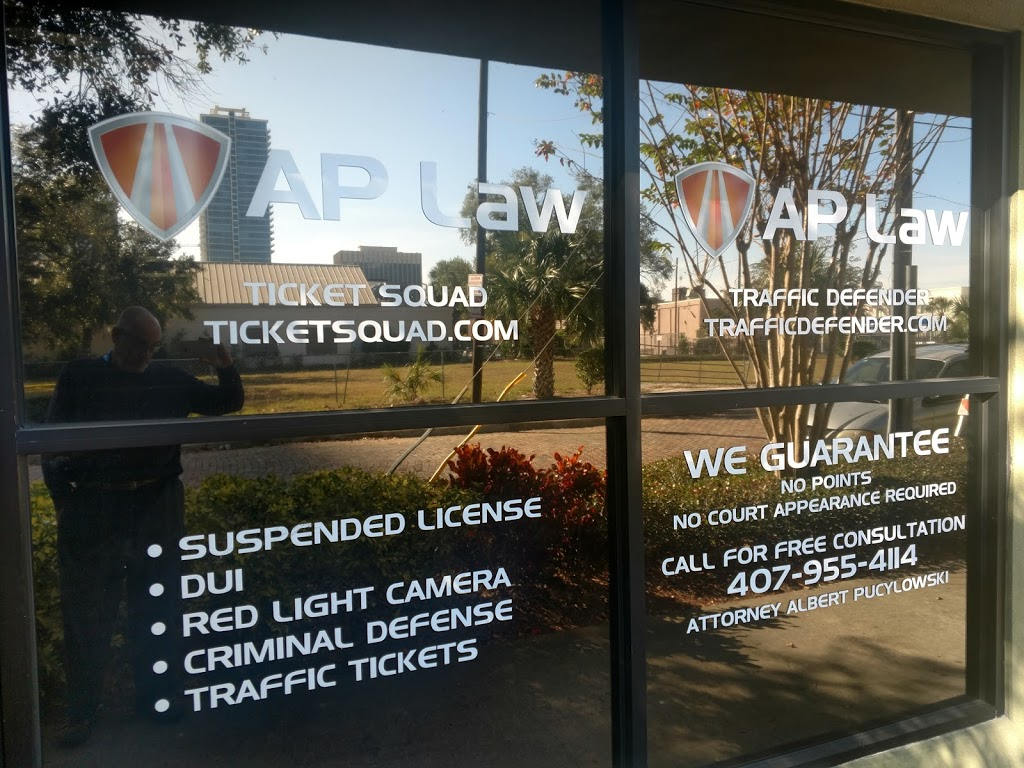 AP Law - lawyer    Photo 1 of 1   Address: 501 N Magnolia Ave Suite A4, Orlando, FL 32801, USA   Phone: (407) 955-4114