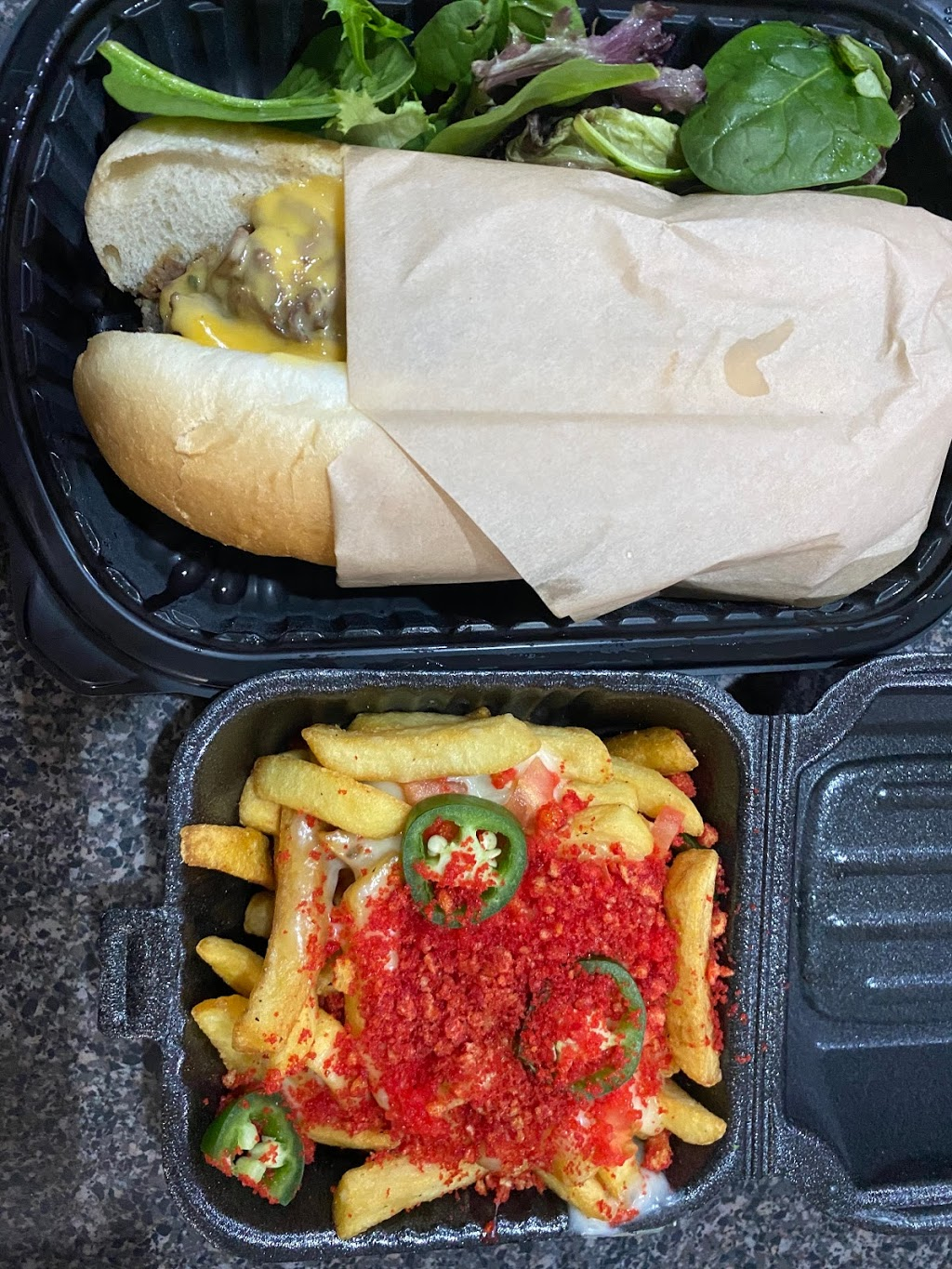 The Flamin Boss - meal takeaway    Photo 2 of 10   Address: 18 N Dollins Ave Suite 2, Orlando, FL 32805, USA   Phone: (321) 240-9029