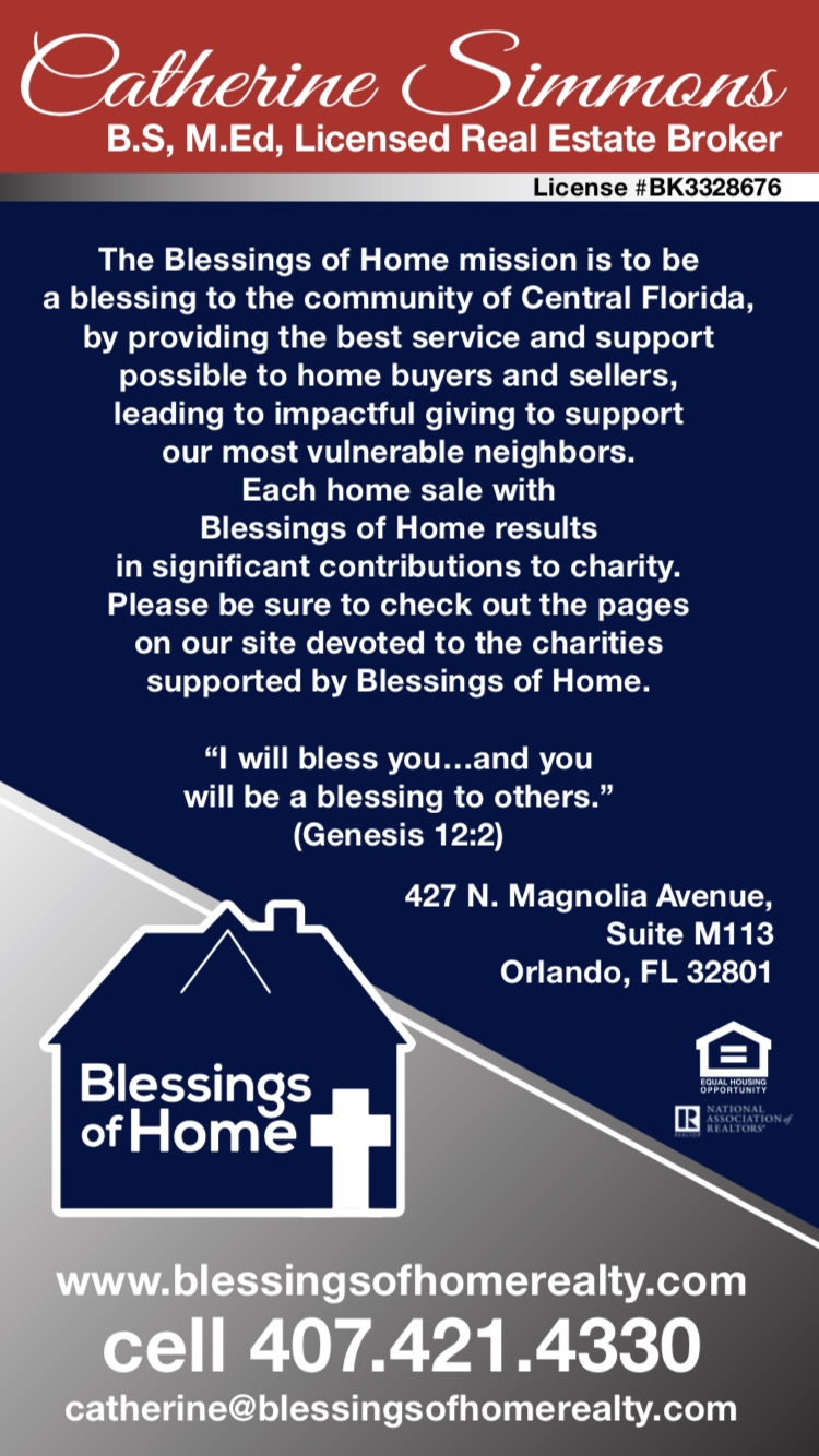 BLESSINGS OF HOME REALTY - real estate agency    Photo 3 of 6   Address: 427 N Magnolia Ave Suite M113, Orlando, FL 32801, USA   Phone: (407) 421-4330