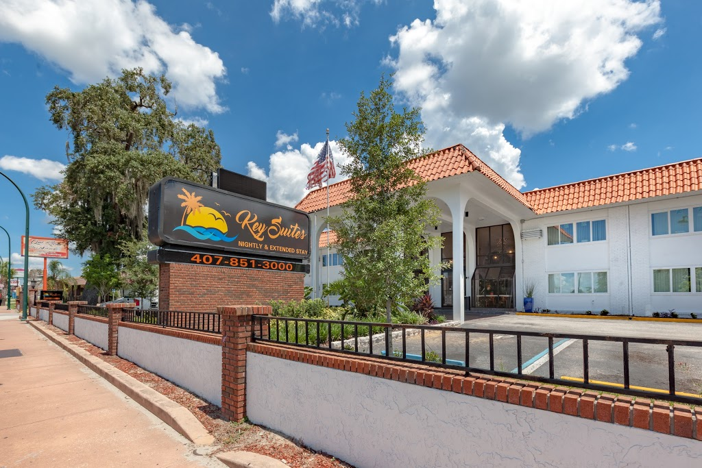 Key Suites Hotel and Extended Stay - lodging    Photo 1 of 10   Address: 4855 Orange Blossom Trail, Orlando, FL 32839, USA   Phone: (407) 851-3000