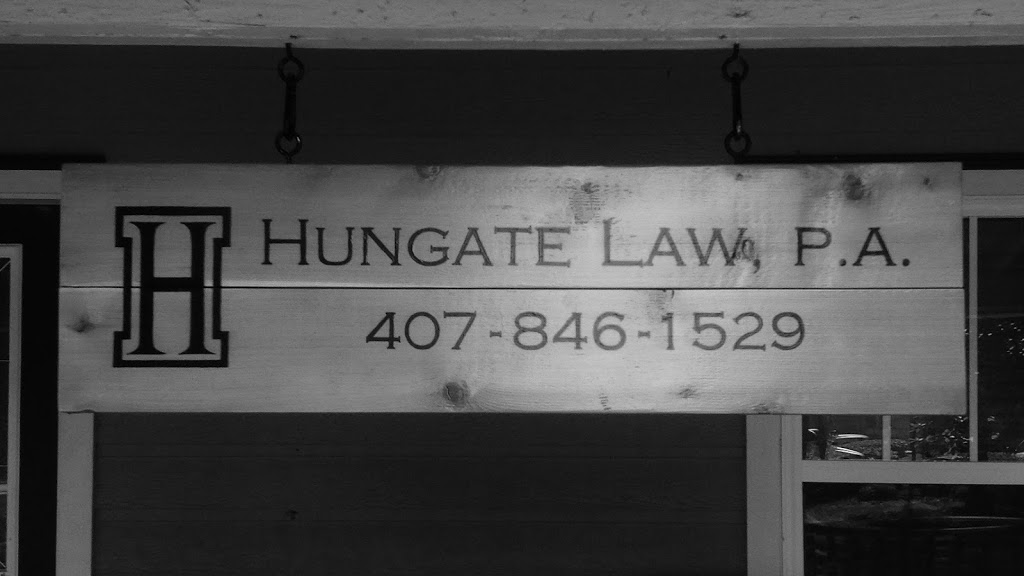 Hungate Law, P.A. - lawyer  | Photo 1 of 6 | Address: 122 S Rose Ave, Kissimmee, FL 34741, USA | Phone: (407) 846-1529