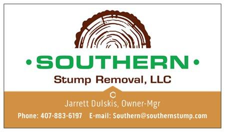 Southern Stump Removal, LLC - point of interest  | Photo 4 of 10 | Address: 1585 Waterwitch Dr, Orlando, FL 32806, USA | Phone: (407) 883-6197
