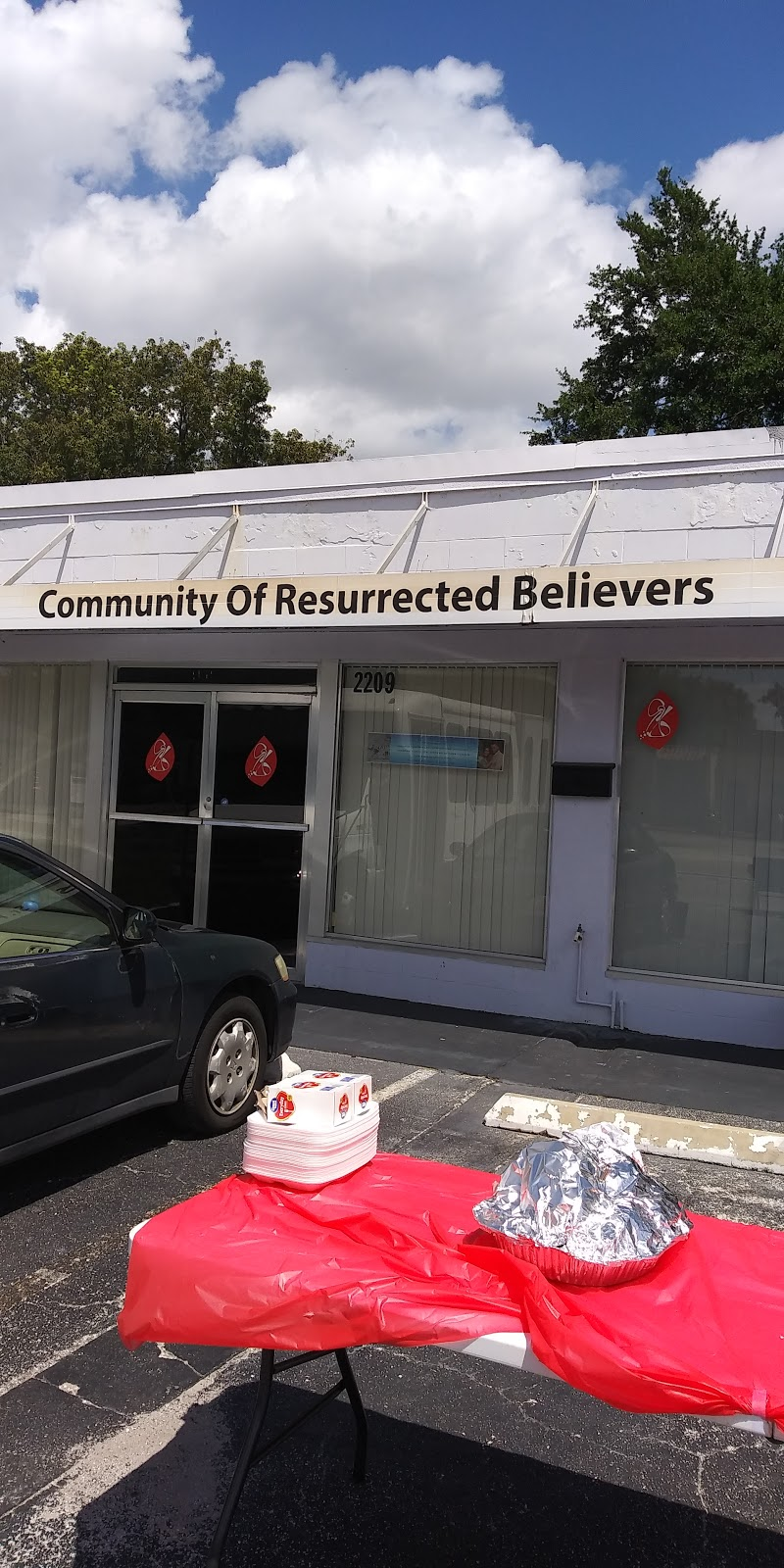 Community of Resurrected Believers - church    Photo 1 of 2   Address: 2209 Curry Ford Rd, Orlando, FL 32806, USA   Phone: (407) 270-9606