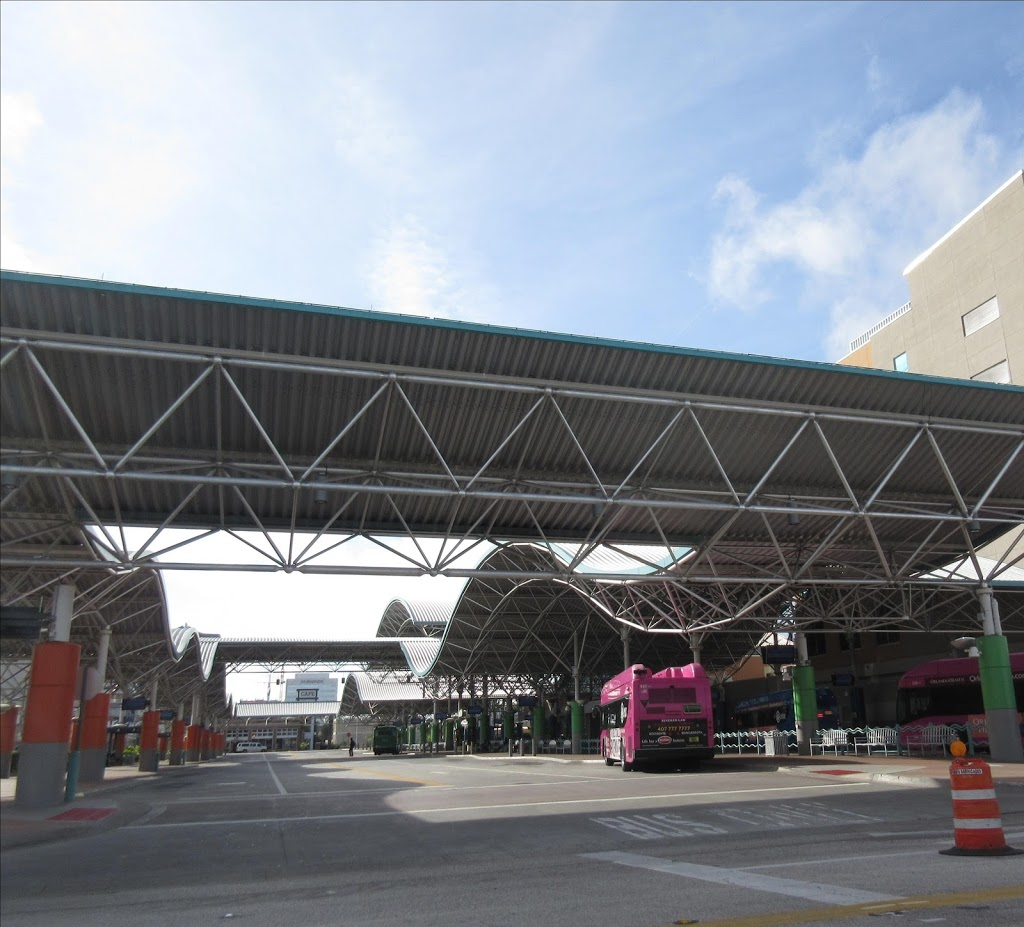 LYNX Central Bus Station - point of interest    Photo 2 of 6   Address: 401 N Garland Ave, Orlando, FL 32801, USA   Phone: (407) 841-5969