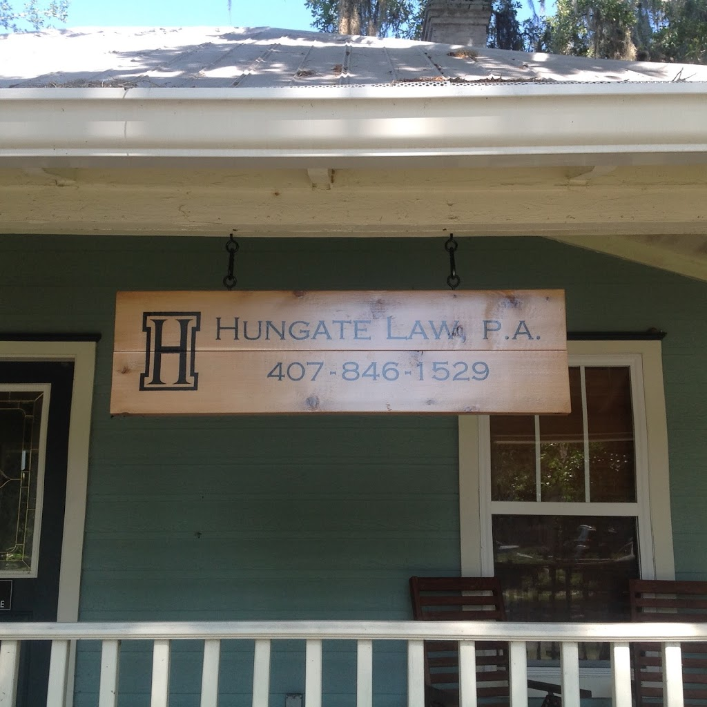 Hungate Law, P.A. - lawyer  | Photo 5 of 6 | Address: 122 S Rose Ave, Kissimmee, FL 34741, USA | Phone: (407) 846-1529