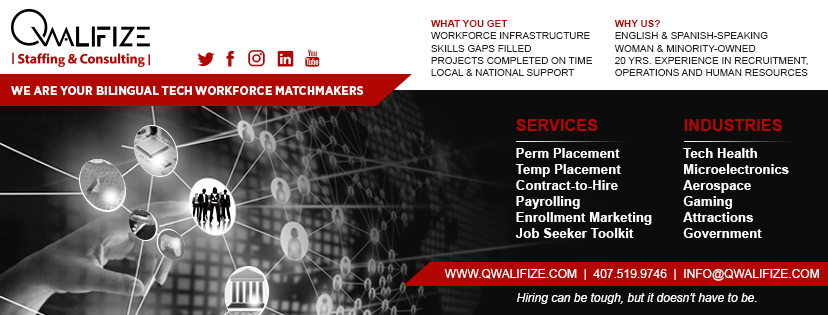 Qwalifize Staffing & Consulting - point of interest    Photo 8 of 10   Address: 400 W Emmett St, Kissimmee, FL 34741, USA   Phone: (407) 505-0026