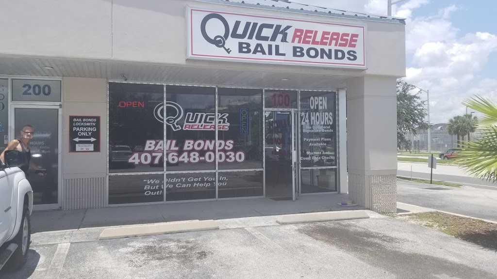 Quick Release Bail Bonds™ - point of interest    Photo 2 of 7   Address: 2911 39th St #100, Orlando, FL 32839, USA   Phone: (407) 648-0030