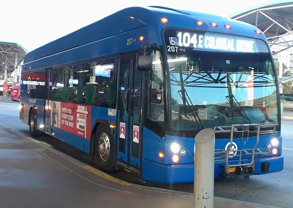 LYNX Central Bus Station - point of interest    Photo 3 of 6   Address: 401 N Garland Ave, Orlando, FL 32801, USA   Phone: (407) 841-5969